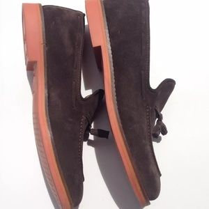 Other - Gant Chocolate Brown Suede Tassel Loafers 11 1/2